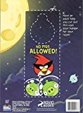 Two Angry Bird Space Coloring & Activities Books and 16 Crayola Crayons Box (Pack of 3)