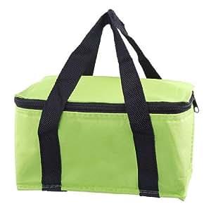 Y-BOA - Sac Isotherme Sport -Vert- Cooler Glacière - Aluminium Tissu 60D Oxford - Voyage/Camping/Repas/Déjeuner/Picnic - Boîte Lunchbox