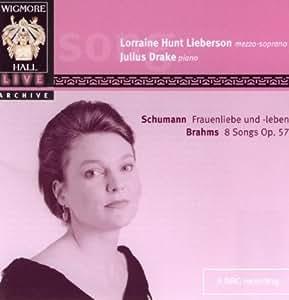 Lorraine Hunt Lieberson - Brahms 8 Lieder Op. 57 & Schumann Frauenliebe und -leben