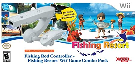 Fishing Resort with Fishing Rod Controller