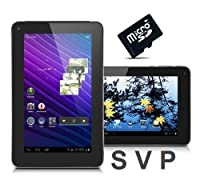 "SVP® 9"" Android 4.0, Google Play Store, with 4GB Memory Card, Skype, YouTube, Wifi, Flash, Capacitive Touchscreen Tablet"