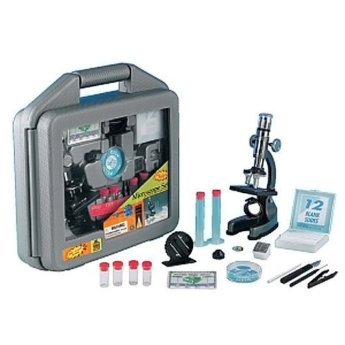 Elenco Electronics Discovery Planet Microscope Set In Carrying Case By Elenco Electronics Inc [Toys & Games]