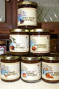 The Virginia Chutney Co Spicy Plum Chutney - A Relish For Hot Cold Meat Fish Cheese And Sandwiches