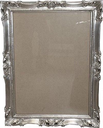 Casa Padrino Baroque wooden picture frame 85 x 64 cm silver - Big Photo Frame Art Nouveau Antique style - Made in Italy Casa Padrino Baroque wooden picture frame 85 x 64 cm gold - Big Photo Frame Art Nouveau Antique style - Made in Italy