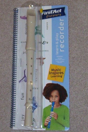First Act Discovery Learn & Play Recorder -- Music Inspires Learning - 1