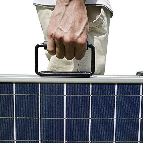 Eco worthy pannello solare fotovoltaico 120w 12v poly 120 watt pannelli solari caricatore - Pannello fotovoltaico portatile ...