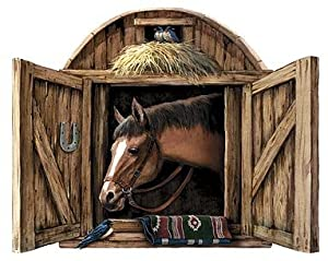 Stable Door Peel & Stick  Wall Mural