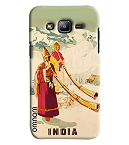 Omnam Indian Art From Himalayas Printed Designer Back Cover Case For Samsung Galaxy J2