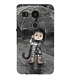 FUSON 3D Designer Back Case Cover for NEXUS5X D9958