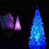 ライト LED卓上ミニツリー クリスマス ツリー パーティ デコレーション ツリー カラーグラデーション 装飾 クリス飾り 贈り物