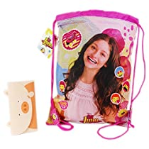 Disney Soy Luna IconsDrawstrings Backpack Daypack