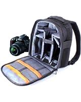 DURAGADGET Sac à dos en Nylon et résistant à l'eau pour appareils photos Nikon D5000, D5100, D3100, D600, D800