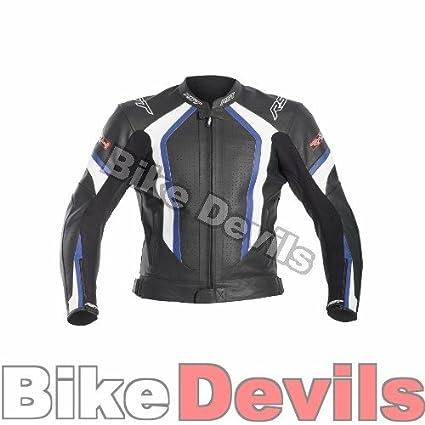 Nouvelle veste de moto en cuir bleu R RST-1488