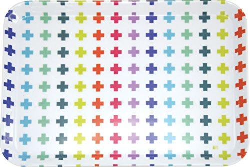 incidence-paris-22260-technicolor-plateau-motif-croix-melamine-multicolore-305-x-22-x-15-cm-petit-mo