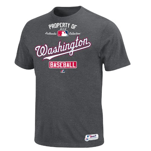 MLB Washington Nationals T-Shirt, X-Large, Grey at Amazon.com