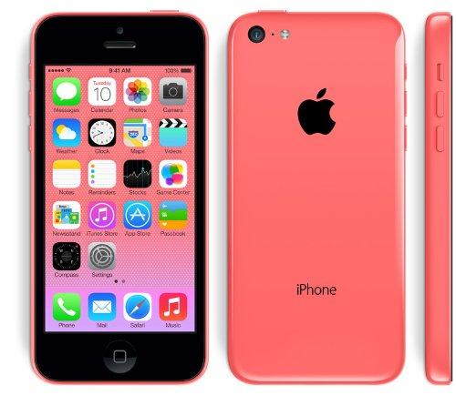 海外版SIMフリーApple iPhone5C 16GB Pink ピンクsim free シムフリー