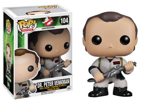 Funko Pop! Movies: Ghostbusters - Dr. Peter Venkman Action Figure - 1