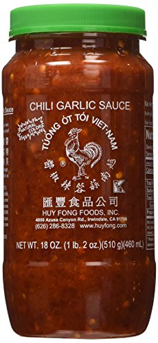 Huy Fong Chili Garlic Sauce 18 Oz (Huy Fong Garlic Chili Sauce compare prices)