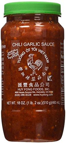 Huy Fong Chili Garlic Sauce 18 Oz