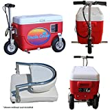 Cruzin Cooler Scooter 1000w RED 48v Electric, with Seat Back Rest