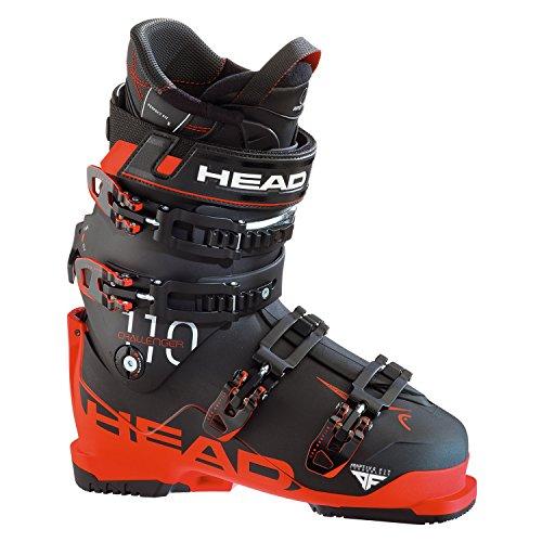 Skischuh Skistiefel Head Challenger 110 MP 295 Gr. 45,5 Black/Red Ski + Hike NEU