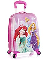 Disney Princess Heys Rolling Luggage Case [Cinderella, Rapunzel and Ariel]