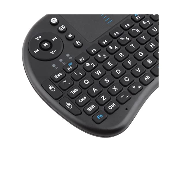 CDC-Rii-Mini-i8-Wireless-QWERTY-Mini-Clavier-Franaise-Rtro-clair-Ergonomique-sans-Fil-avec-Touchpad-Pour-Smart-TV-mini-PC-HTPC-Console-Ordinateur