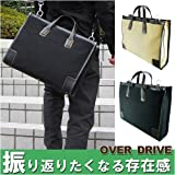 オーバードライブ ビジネスバッグ キャンバスシリーズ クロ メンズ 3Y89