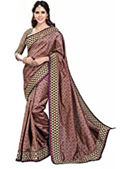 ASHIKA RAWSILK SAREE COLLECTIONS-Brown-SUT2042-VN-Art Silk-Brown-SUT2042-VN-Art Silk