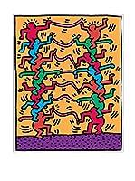 Artopweb Panel Decorativo Haring Senza Titolo 1985 - 43X54 cm Bordo Nero