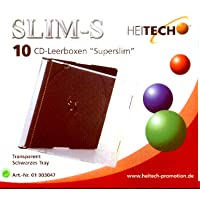 Heitech 10 CD-Leerboxen 'Superslim'
