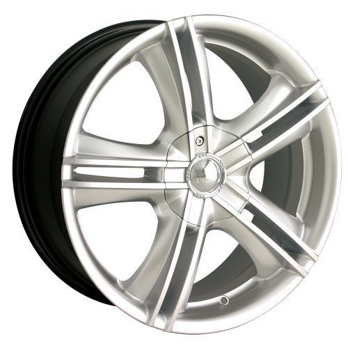 Ion Alloy 161 Hypersilver Wheel with Machined Face (18x7.5