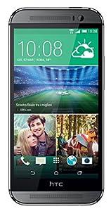 HTC One M8S Smartphone débloqué 4G (Ecran : 5 pouces - 16 Go - Simple Nano SIM - Android 5.0 Lollipop) Gris