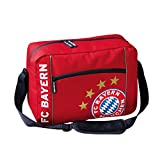 FC Bayern München 18826 Schultertasche rot Logo 39 x 28,5 x...