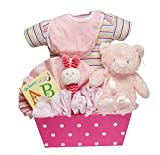 Read With The Bear Girl Baby Gift Basket