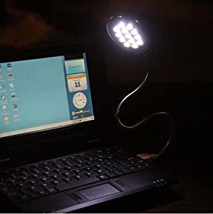 Leegoal USB 13 LED Flexible Light Lamp for Laptop PC Notebook PC