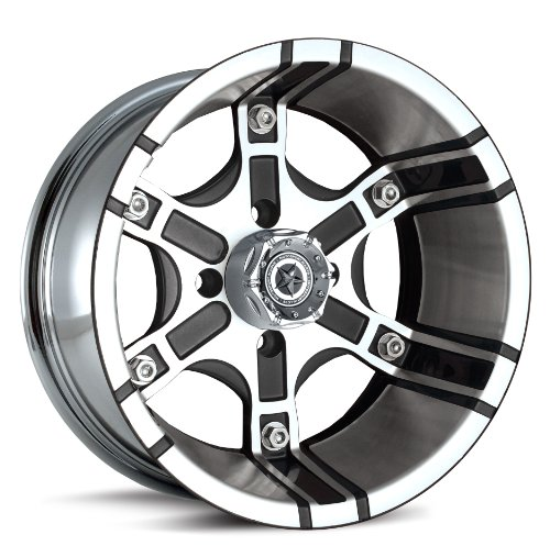 MotoSport Alloys M8 Platoon Machined Aluminum