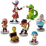 Disney Parks Jake Neverland Pirates Figurine Playset Play Set Cake Topper
