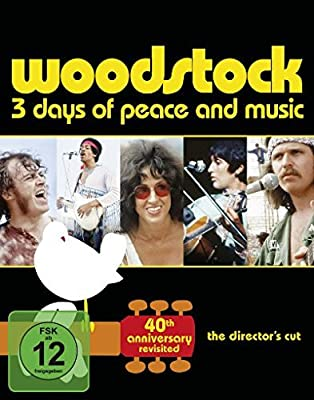 Woodstock - 40th Anniversary Edition [Blu-ray] [Director's Cut]