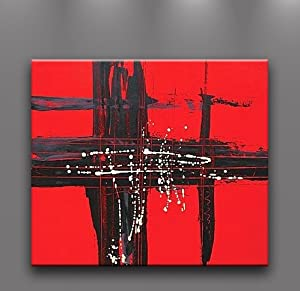 Amazon.com - Oil Painting Abstract Modern Art on Canvas Handmade
