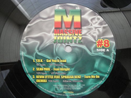 Kevin lyttle feat. spragga benz - Massive Jointz #8 Promowax Vinyl Service Various Artists T.o.k., Sean Paul, Kevin Lyttle Feat. Spragga Benz, Sean Paul & Mr. Vegas, Wayne Smith, Tenor Saw Vinyl Lp - Zortam Music