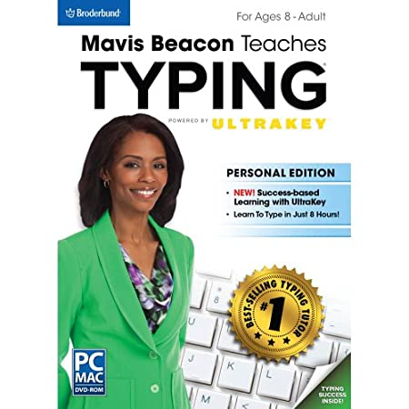 Mavis Beacon Teaches Typing Powered by UltraKey - Personal Edition  [Download]