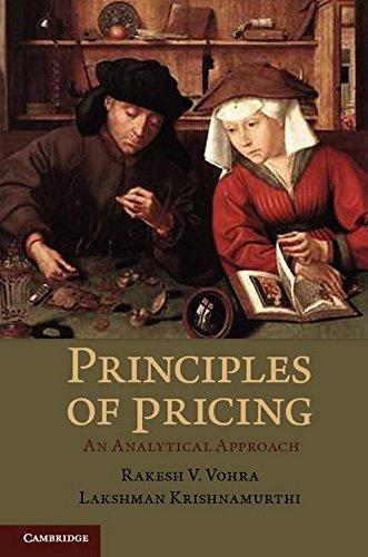 Principles of Pricing Hardback