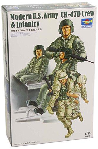 Trumpeter 00415 - Set di miniature armata statunitense CH-47D