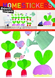 Home Stickers Vegetable Garden Decorative Wall Stickers