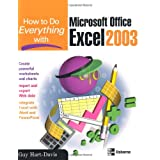 How to Do Everything with Microsoft Office Excel 2003by Guy Hart-Davis