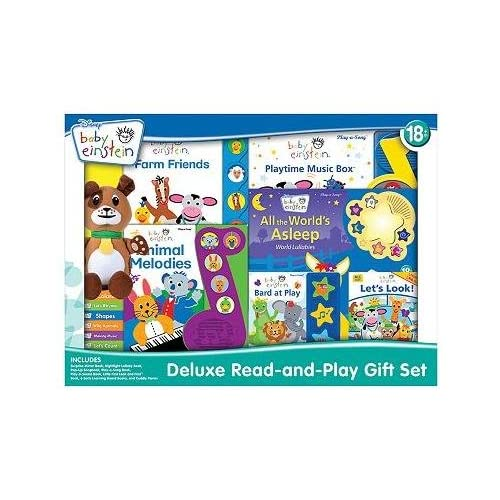 com Disney Baby Einstein Deluxe Read and Play Gift Set (Baby Einstein