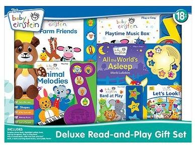 Imagen de Disney Baby Einstein Deluxe Read-and-Play Set de Regalo (Baby Einstein)