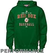 sports shoes 0a0d4 32d82 Boston Red Sox Sweatshirt: Majestic Boston Red Sox Green St ...