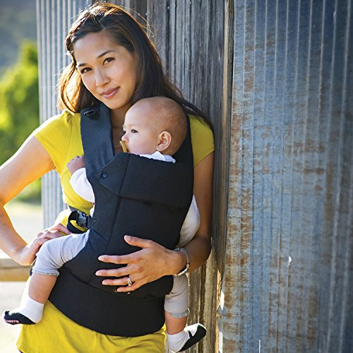 Gemini Performance Baby Carrier By Beco – Multi-Position Soft Structured Sling w/ Adjustable Straps & Comfort Padding for Infant/Toddler Hip Support – Metro Black